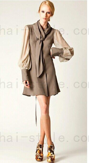 Fashion Week tailoring Figure --- elegant dresses