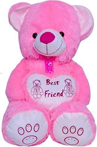 8a512e7aac4 Shiddhi Toys 4 Feet Pink Bestfriend Teddy Bear