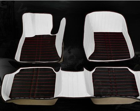 Buy Wholesale Personalized PU Leather Tailored Auto Carpet Protector Car Floor Mats 5pcs Sets For BMW Z3 - White from Chinese Wholesaler - idcte.com