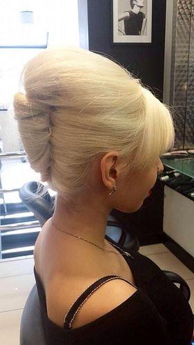 Blonde Beehive Bun   Sexy Blonde Bun 2   Hairlover   Flickr