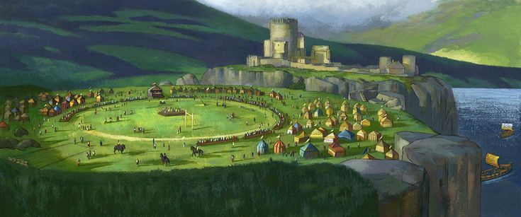 Boceto de el castillo de BRAVE (INDOMABLE)