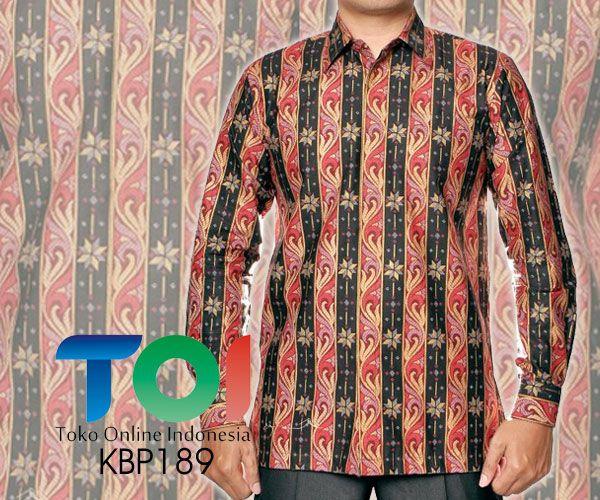 Kemeja Batik Katun dengan Kode KBP189, merupakan batik printing yang terbuat dari bahan katun dengan jahitan yang rapih. Pada bagian dalam kemeja terdapat furing yang terbuat dari bahan katun. Harga untuk kemeja batik kode 189 ini adalah Rp.275.000