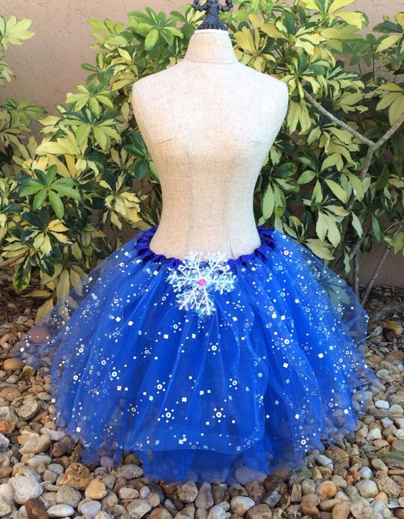 Frozen Anna Tutu Blue Frozen Tutu Frozen Party by partiesandfun, $15.00