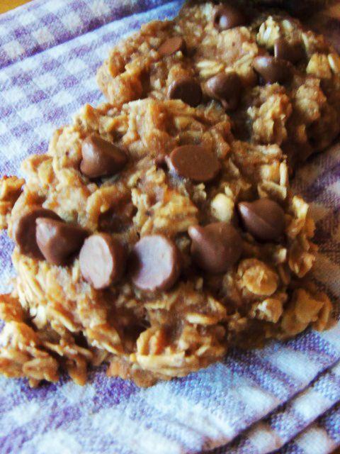 Oatmeal Peanut Butter Breakfast Cookies