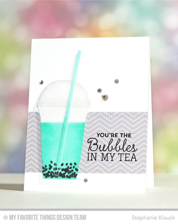 Stay Cool, Cool Cup Die-namics, Basic Stitch Lines Die-namics - Stephanie Klauck  #mftstamps