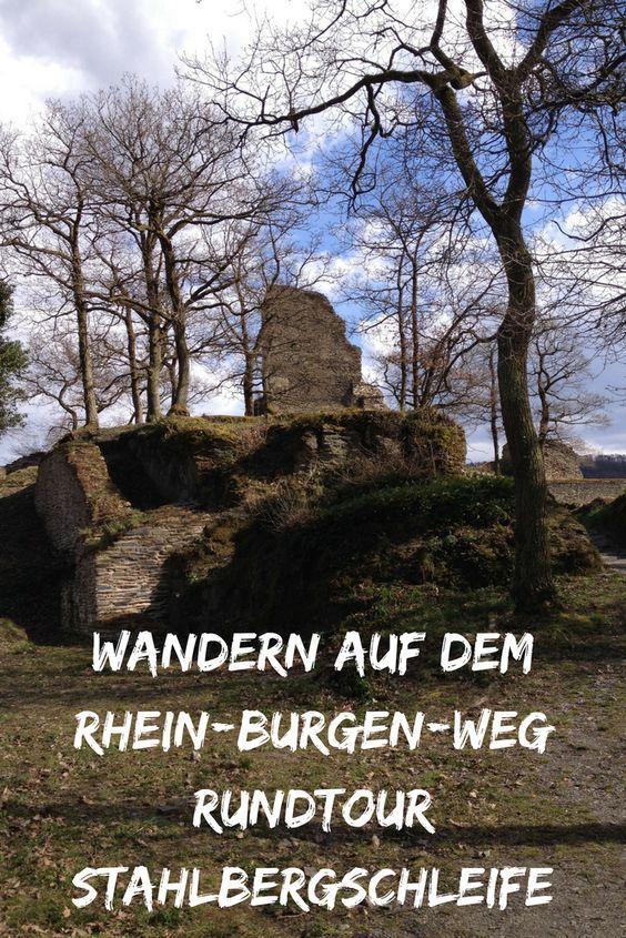 Wandern in Rheinland-Pfalz! Die Stahlbergschleife ist eine wunderbare, abwechslungsreiche Wanderung mit Start und Ziel in Bacharach. Als Rundwanderung am Rhein Burgen Weg eignet sie sich perfekt als Tageswanderung. Wandern im UNESCO -Welterbe Oberes Mittelrheintal!