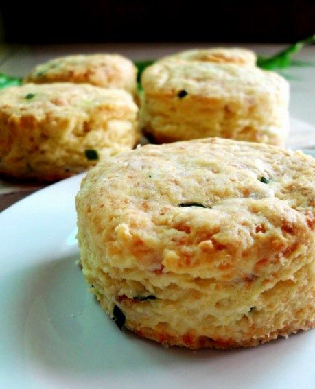 Savoury Ham and Cheese Scones | Sweet Breakfast Bits and ...