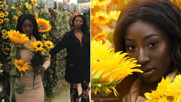 "If you feel like you've been seeing a lot of flowery headshots popping up on social media lately, don't worry, you're not imagining it. It's just the latest viral fad. The so-called ""Hobby Lobby Challenge"" was reportedly started by a 22-year-old professional photographer named Kelsey Maggart in January. It involves posting deceptively"