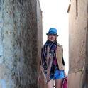 Ethnic Pink  , Bershka en Sombreros, Carpisa en Pañuelos / Bufandas / Echarpes, levi\'s  501 vintage en Pantalones cortos, SUITEBLANCO en Chalecos, Carpisa en Clutches, SUITEBLANCO en Tacones / Plataformas