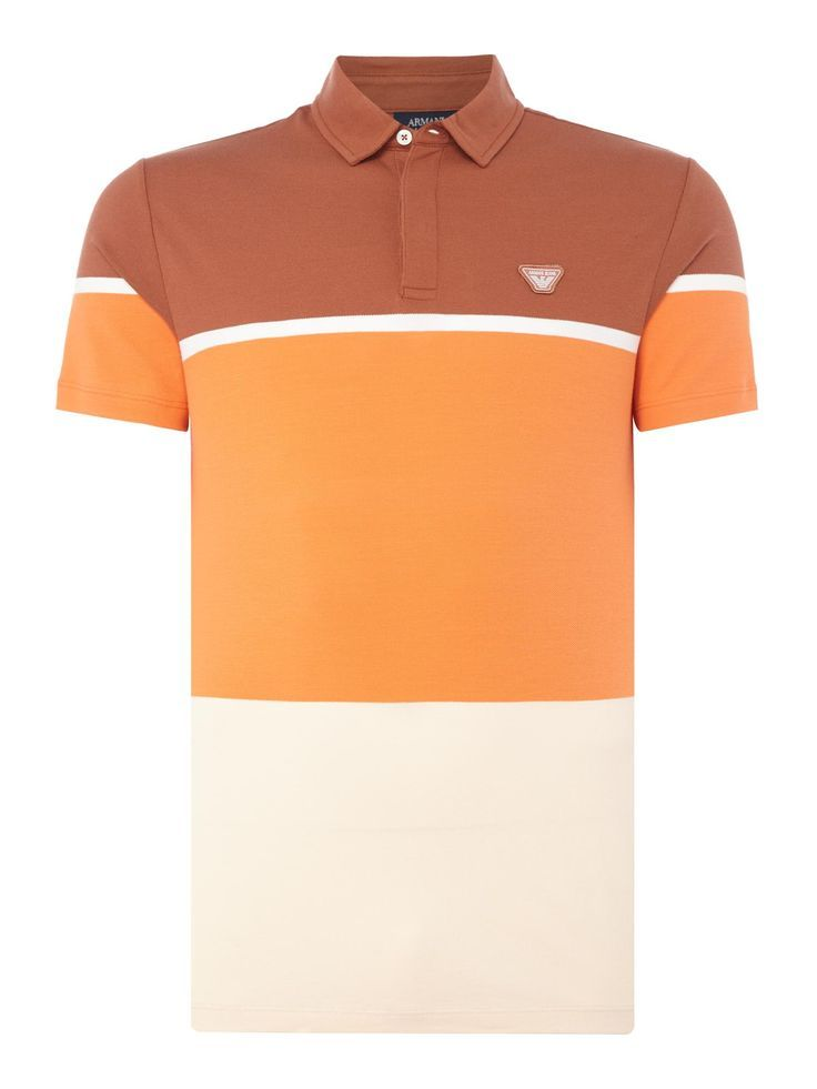 Buy your Armani Jeans Block Stripe Polo Shirt online now at House of Fraser. Why not Buy and Collect in-store?