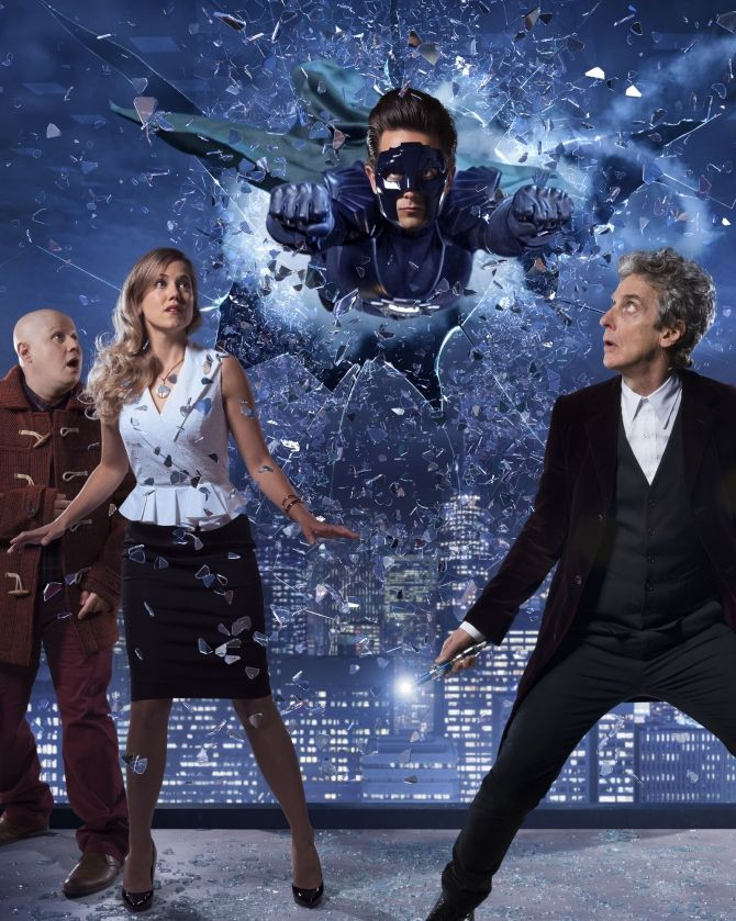 """The Return Of Doctor Mysterio"" promo poster"