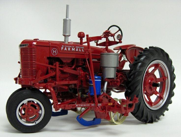1 16th 5 Ertl Key Precision Series Ih Farmall H With Hm220 Planter Farmall Case Ih Toys Ertl