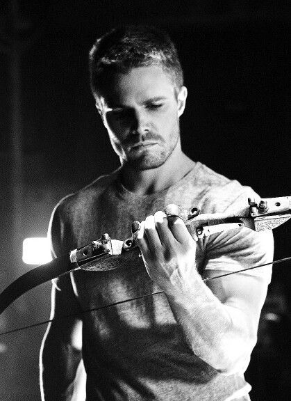 The Flash and Arrow ... Stephen Amell as Oliver Queen