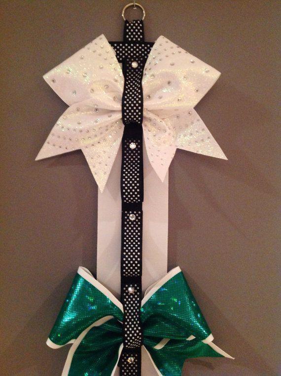 Cheer Bow Holder by MadeByIrishBreen on Etsy