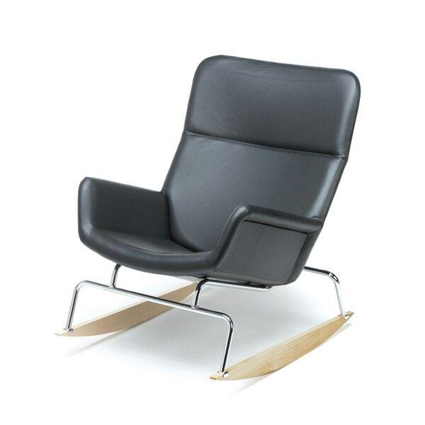 L-66 Moderno rocking chair. Design Yrjö Kukkapuro.