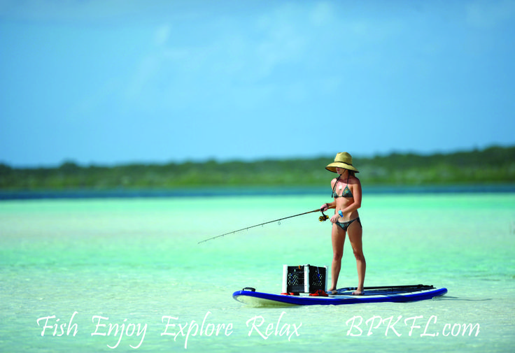 Stand up paddleboard? We've got it! Fishing? Yes sir! Combining two great things activities into one? At the Big Pine Key Fishing Lodge you can do it all!