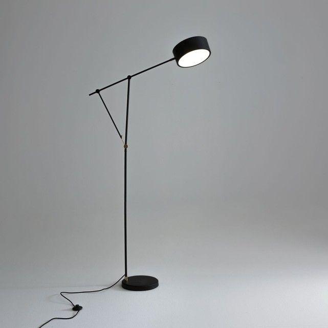 Lampadaire Melissos Noir Am Pm La Redoute Mobile Lampadaire Lampadaire Noir Lampe Sur Pied