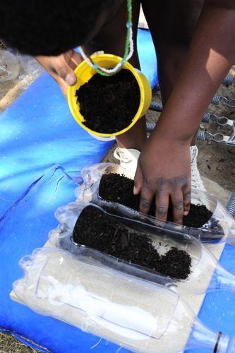Experiment s pôdnou eróziou - život je záhrada