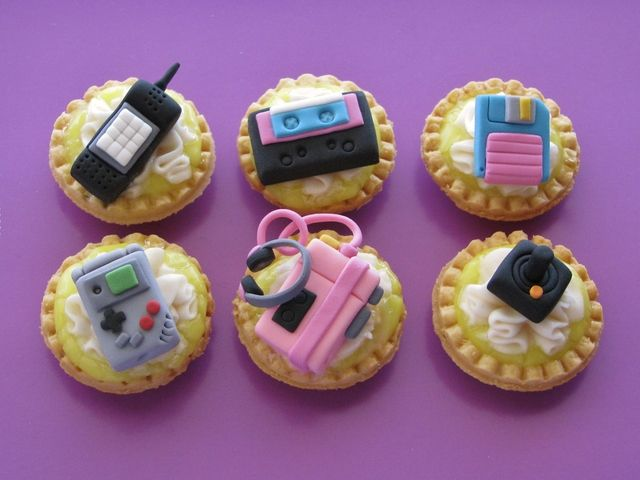 This is incredible! Technology in the 80's as dessert!