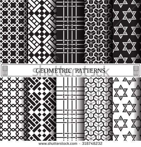 geometric vector pattern, pattern fills, web page background, surface textures