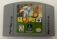 For sale! Glover For N64; Tested And Working! Reteo Video Game; Nintendo 64