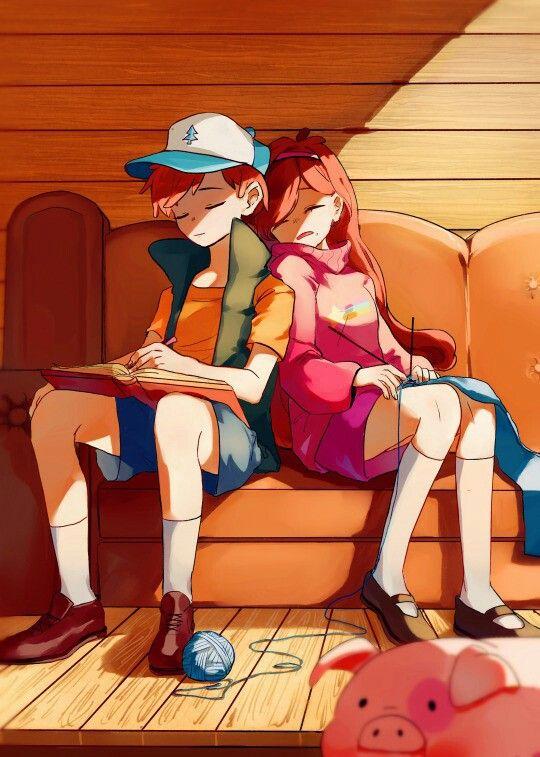 Gravity Falls - Dipper y Mabel