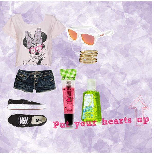 """Put your hearts up!"" by isi-belieber3 on Polyvore"
