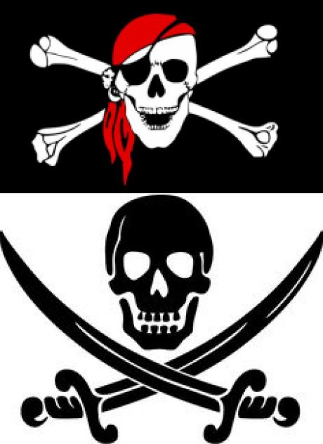 Pirate Party Picks, Flags and Decorations | Пираты, Банданы и Красная Бандана