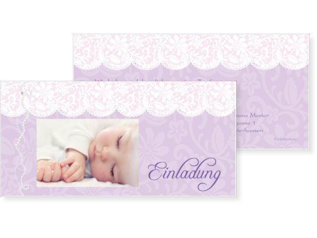 48 besten Taufkarten Baby Bilder auf Pinterest