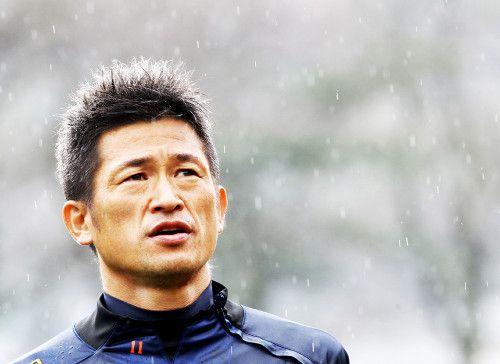 ブラジルW杯、日本代表に帯同する三浦知良