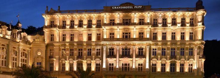 Grand hotel Pupp, Czech.
