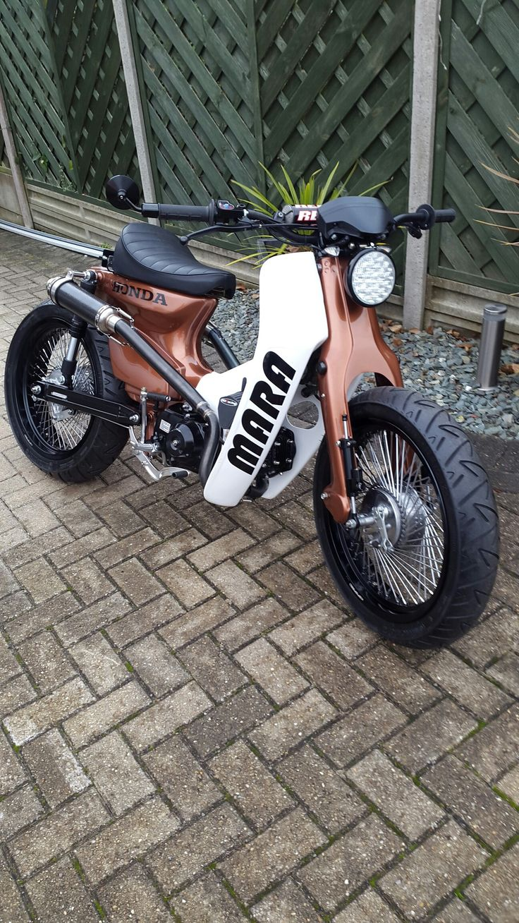 Custom c90 street cub that I built #CustomMotorcycles