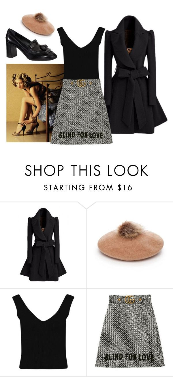 """""""guccio gucci"""" by ivorylineslead ❤ liked on Polyvore featuring Collection XIIX, Boohoo, Gucci and Tod's"""