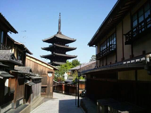 法観寺 八坂の塔 (Houkanji Temple and Yasaka Pagoda)