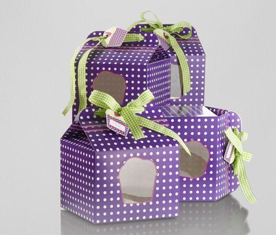 #Cupcake Geschenkboxen