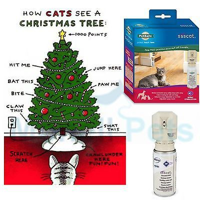 PetSafe SSSCat Spray Control Deterrent System Protect Christmas Tree PDT00-13914