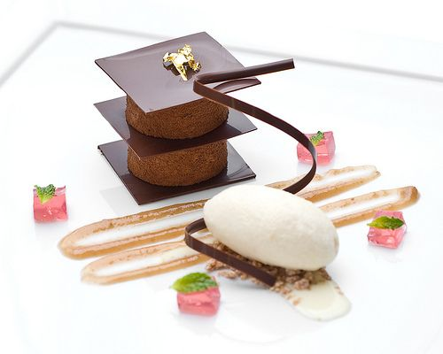 World Pastry Forum Plated Dessert | Plated Fancy Desserts ...