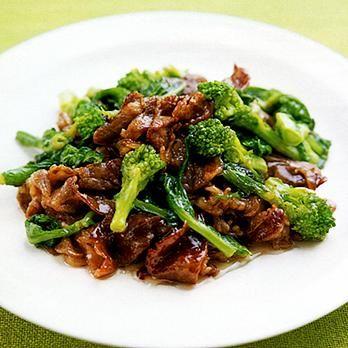 牛肉と菜の花のオイスター炒め | 重野佐和子さんの炒めものの料理レシピ | プロの簡単料理レシピはレタスクラブニュース