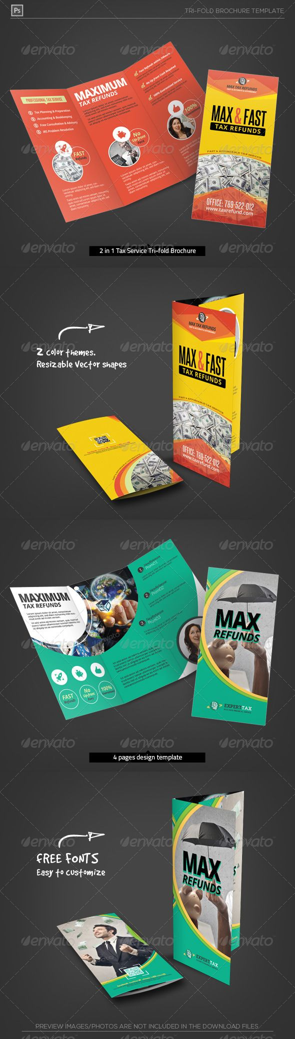 78 Best images about Print Templates on Pinterest   Adobe ...