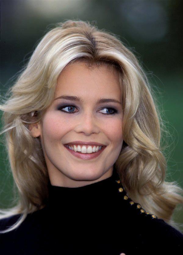 Claudia Schiffer   Claudia   Pinterest   Sonrisa hermosa ...