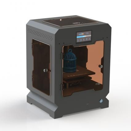 3D Printer CreatBot F160-3Design NZ  The CreatBot F160 3D printer is a new addition to the CreatBot range. It's 160mm x 160mm x 200mm build size makes it a great tool for the classroom or small businesses. For the past decade, CreatBot has been manufacturing printers which they supply to over 20 countries. The are internationally recognised as producing some of the most solid and high-quality 3D desktop printers in the industry.