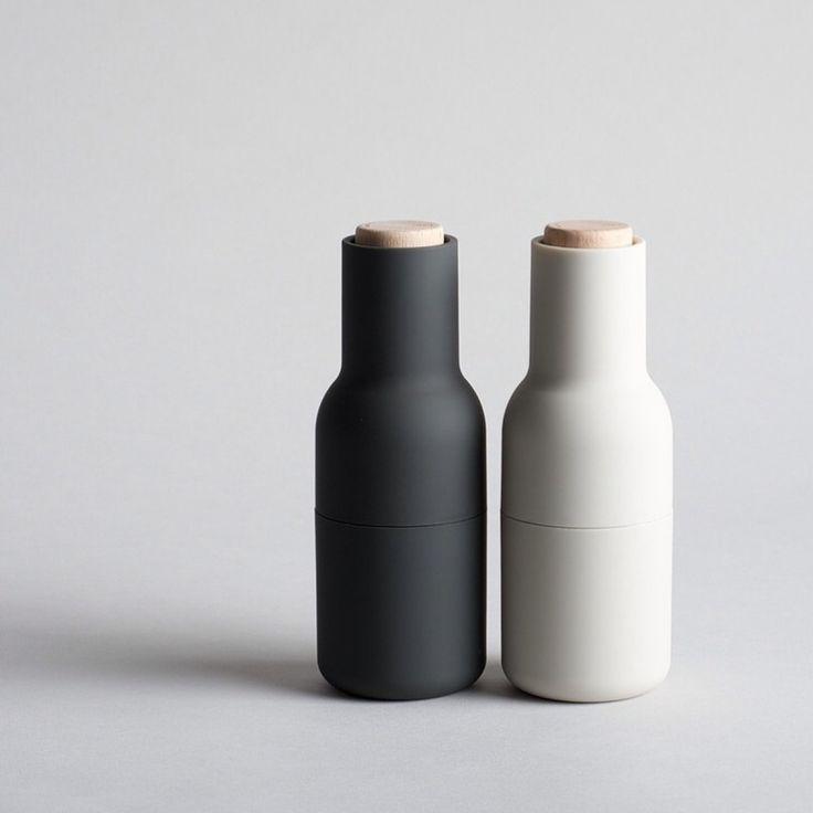 designstuff offers a range of Scandinavian designed homewares including these incredible Menu salt and pepper bottle grinders designed by Norm Architects.