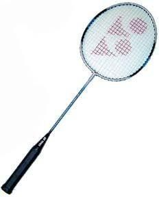 Badminton Racket - Yonex Steel - Racket Sports by Olympia Sports. $22.95. Yonex B-450...Steel head and shaft, quality string...Patented built-in T-joint, which makes a stronger racket with more consistency and control.. Save 24%!