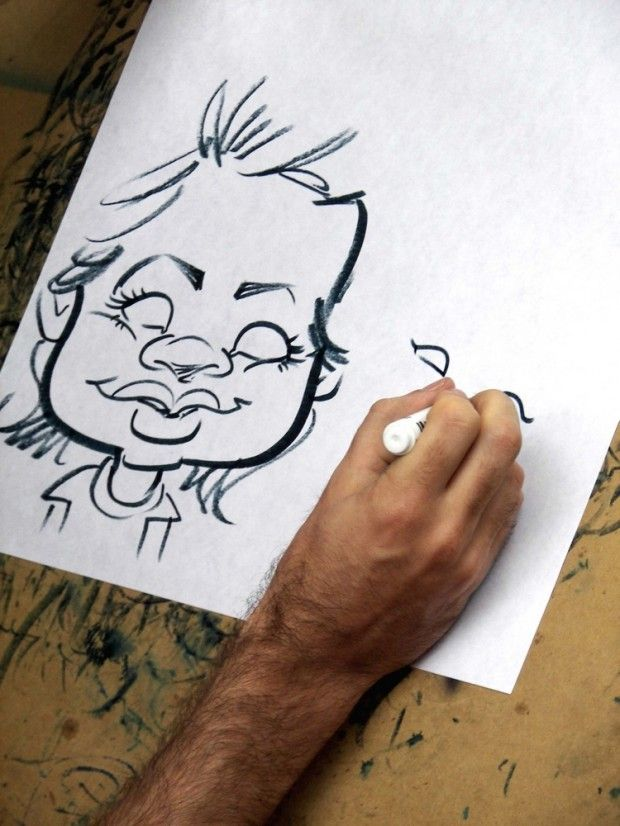 Drawing Caricatures: How To Create A Caricature In 8 Steps