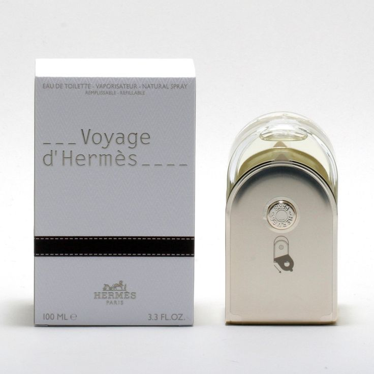 Voyage D'Hermes For Women -Eau De Toilette Spray (Refillable)