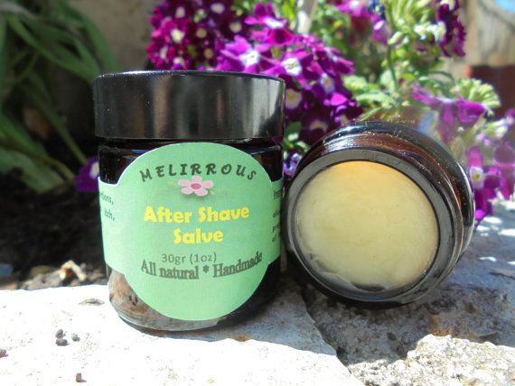 After Shave Salve After Shave Balm. All Natural by MelirrousBees