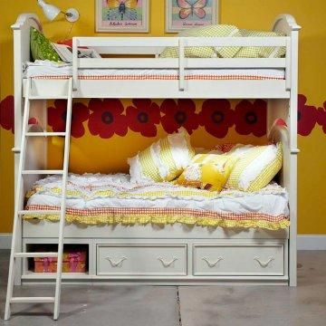 Charlotte Twin over Twin Bunk Bed.
