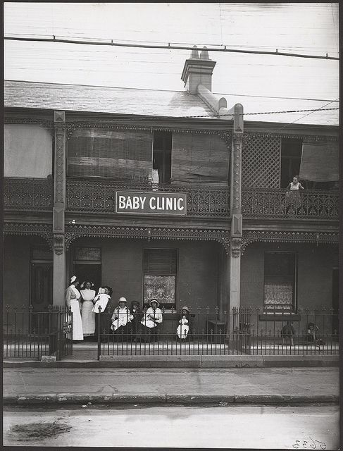 Newtown Baby Clinic, 1914 by State Records NSW, via Flickr