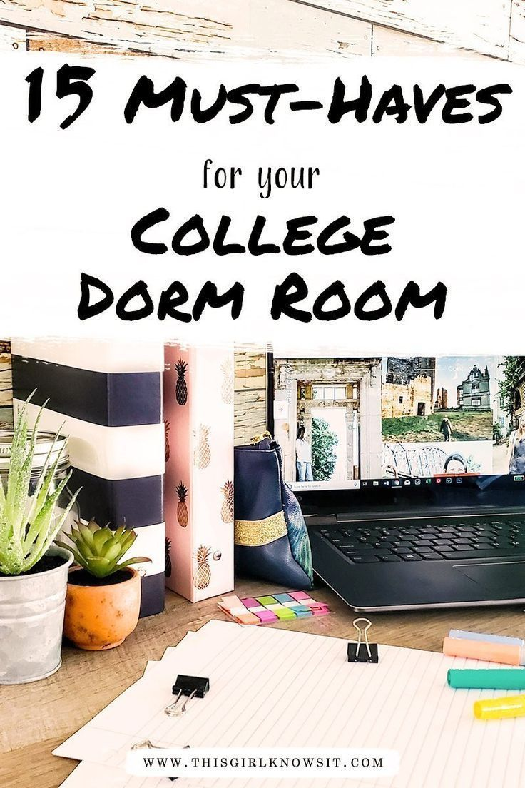 15 Must Haves For Your College Dorm Room College Dorm Rooms