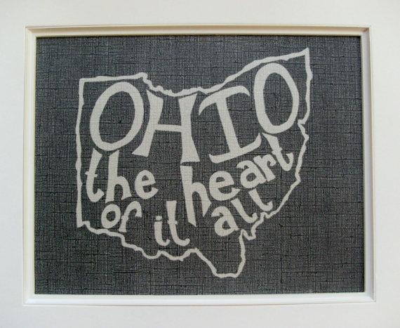 My heart is in Ohio.